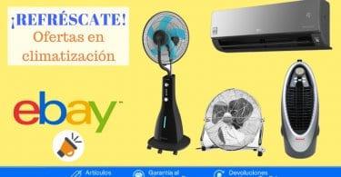 ofertas en climatizacio%CC%81n ebay SuperChollos