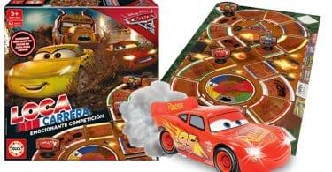 oferta juego de mesa Cars Loca Carrera barato SuperChollos
