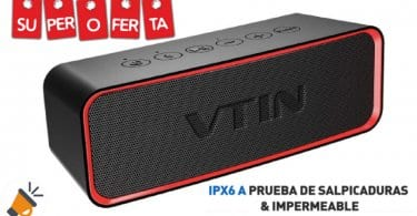oferta VTIN R2 Altavoz Bluetooth barato SuperChollos
