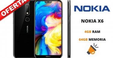oferta NOKIA X6 barato SuperChollos