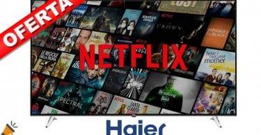 oferta Haier U65H7100 smart tv barata SuperChollos