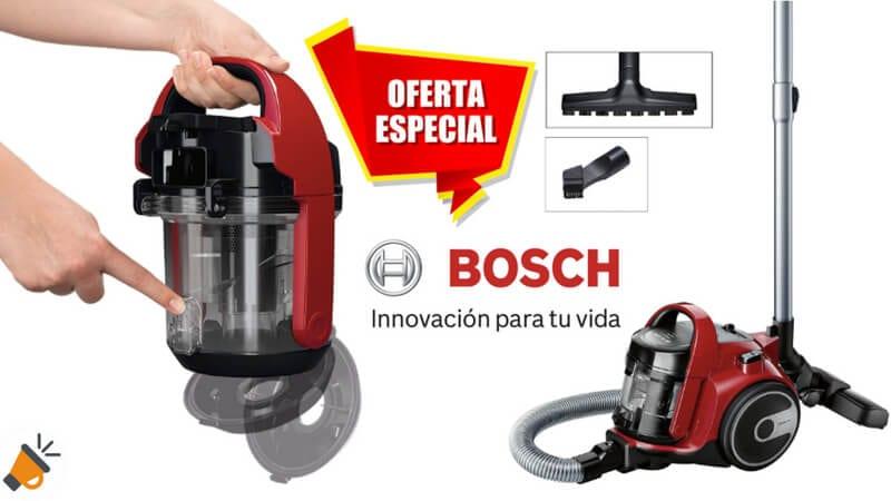oferta Bosch BGC05AAA2 GS05 Cleann Aspirador sin Bolsa barato SuperChollos