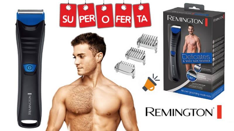 oferta Remington BHT250 Delicates Afeitadora corporal inala%CC%81mbrica barata SuperChollos
