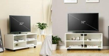 oferta Mueble Songmics para TV barato SuperChollos