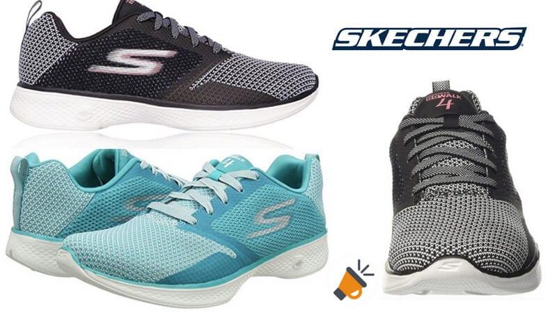 Reportero Cerebro científico  MITAD DE PRECIO! Zapatillas Skechers Go Walk 4 para mujer por solo 29€