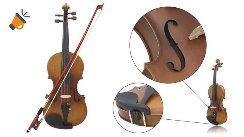 oferta violin madera baraato SuperChollos