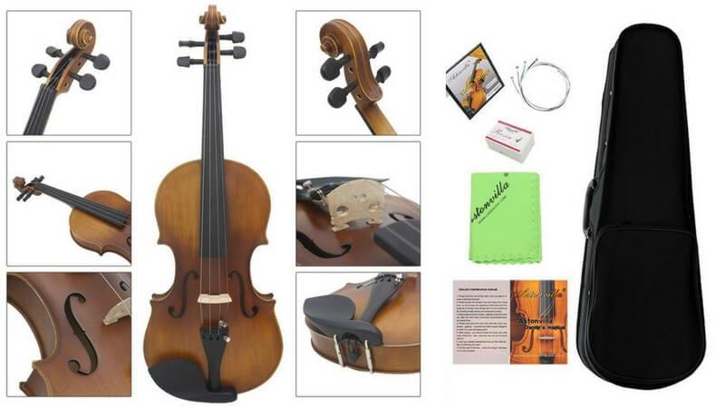 oferta comprar violin madera principiante barato SuperChollos