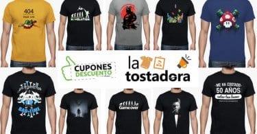 camisetas videojuegos la tostadora SuperChollos