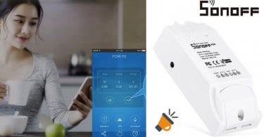 oferta Interruptor WiFi Sonoff barato SuperChollos