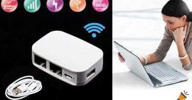 oferta Punto de acceso y repetidor WiFi NEXX WT3020F barato SuperChollos