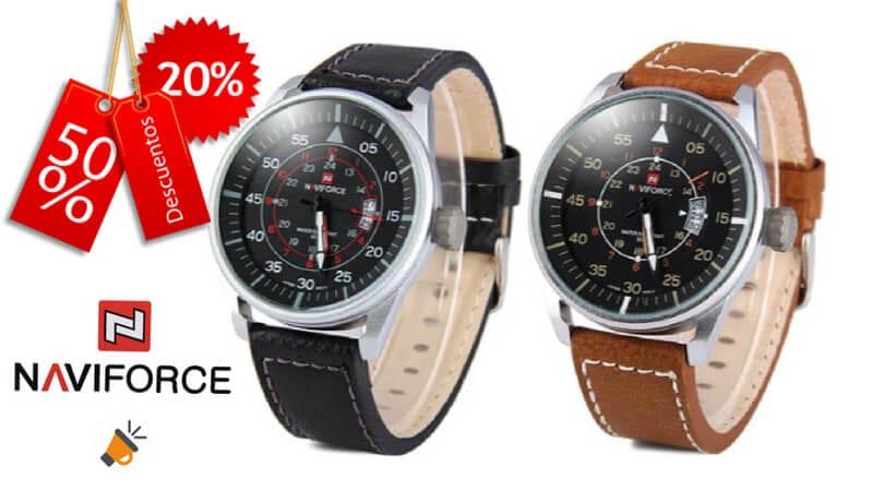 oferta reloj Naviforce 9044 barato SuperChollos