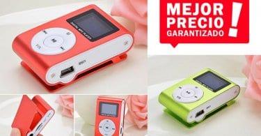 oferta murieo Mini Reproductor MP3 barato SuperChollos