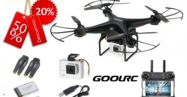 oferta GoolRC T106 WIFI FPV Drone con Ca%CC%81mara barato SuperChollos