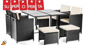 oferta Set de muebles de jardi%CC%81n mchaus barato SuperChollos
