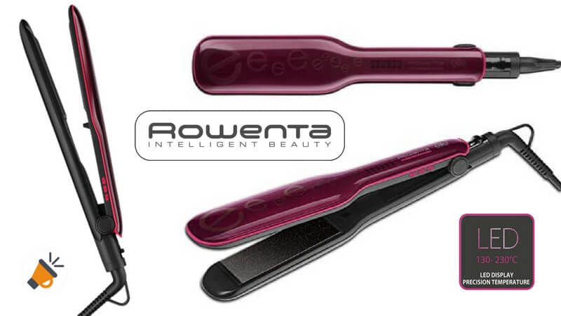 oferta Rowenta Extra Liss SF4112 Plancha de pelo barata SuperChollos