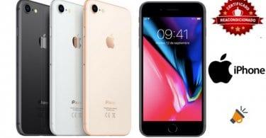 oferta iPhone 8 Reacondicionado barato SuperChollos