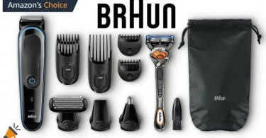 oferta Set de afeitado Braun MGK3080 barato SuperChollos