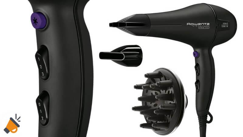 oferta Rowenta Signature Pro Beauty Secador de pelo barato SuperChollos