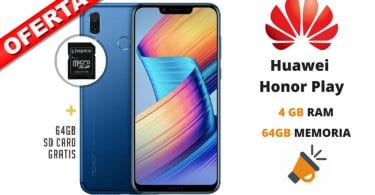 oferta Huawei Honor Play barato SuperChollos
