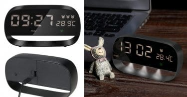oferta Decdeal Led Reloj Digital barato SuperChollos