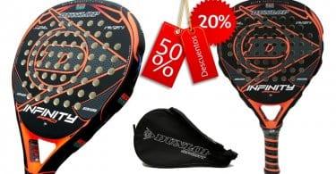 oferta Dunlop Infinity Pro Orange pala de padel barata SuperChollos