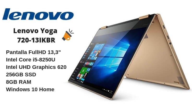 oferta Lenovo Yoga 720 13IKBR barato SuperChollos