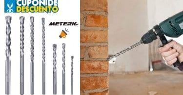 OFERTA 7 brocas helicoidales para cemento meterk baratas BARATAS SuperChollos