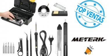 oferta Kit del soldador Meterk barato SuperChollos