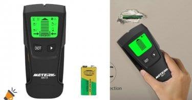 oferta Meterk MK19 detector de metal y cables barato SuperChollos