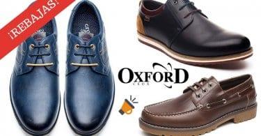 OFERTAS zapatos de cuero OXFORD para hombre BARATOS SuperChollos