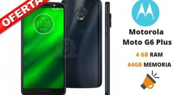 oferta Motorola Moto G6 Plus barato SuperChollos