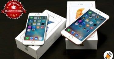 oferta iphone 6 y iphone 6s recondicionados baratos SuperChollos
