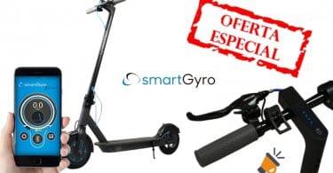 oferta Smartgyro Xtreme City Black Scooter Ele%CC%81ctrico barato SuperChollos
