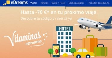 edreams Vuelos y Hoteles baratos SuperChollos