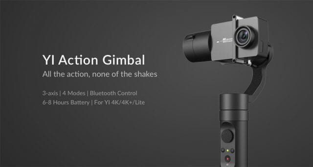 YI Action Gimbal SuperChollos