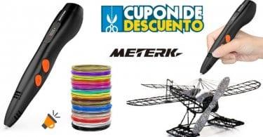 oferta meterk Pluma de impresio%CC%81n 3D barata SuperChollos