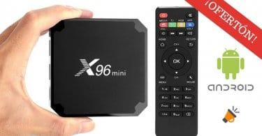OFERTA X96 Mini TV Box Android barato SuperChollos