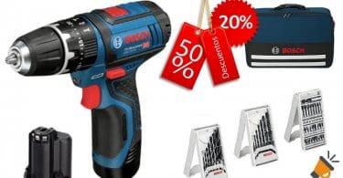 oferta Bosch GSB 12V 15 Professional Taladro barato SuperChollos
