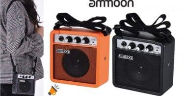 oferta Amplificador ammoon para Guitarra Acu%CC%81sticaEle%CC%81ctrica barato SuperChollos