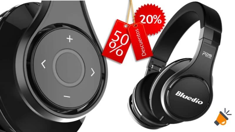 oferta Bluedio U2 UFO Auriculares Bluetooth barato SuperChollos