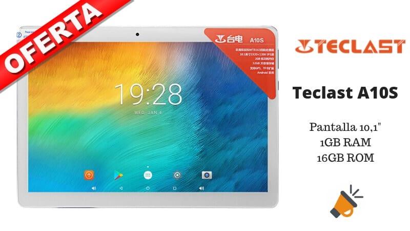 oferta Teclast A10S tablet barata SuperChollos