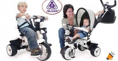 oferta INJUSA Triciclo City MAX barato SuperChollos