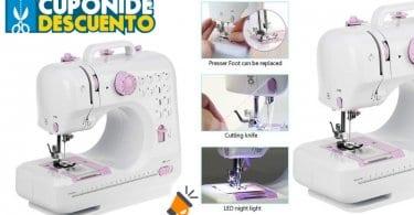 oferta Mini ma%CC%81quina de coser electrica barata SuperChollos
