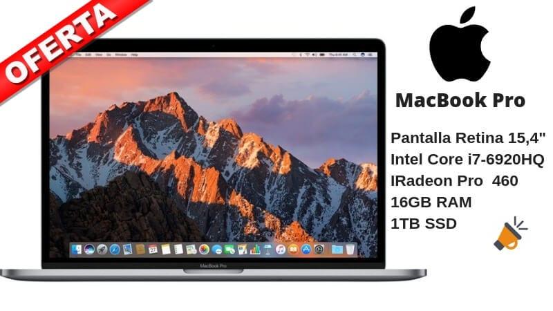 OFERTA MacBook Pro 1522 16L BARATO SuperChollos