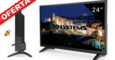 Televisor Led 24 Pulgadas Full HD Smart tv barata SuperChollos