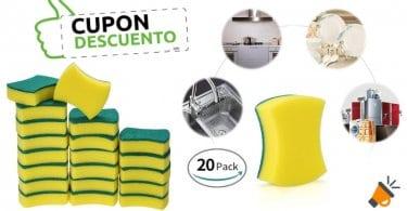 oferta Pack 20 estropajos esonmus baratos SuperChollos