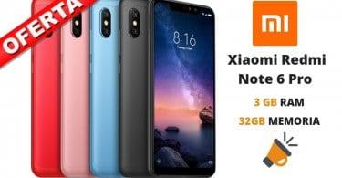 oferta Xiaomi Redmi Nota 6 Pro barato SuperChollos