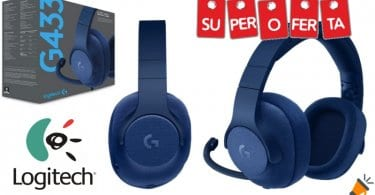 oferta Logitech G433 Auriculares baratos SuperChollos