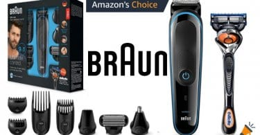 oferta Braun MGK3085 Set de afeitado barato SuperChollos