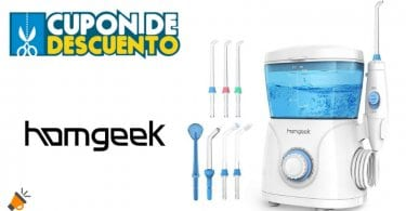 oferta Homgeek Irrigador Bucal barato SuperChollos